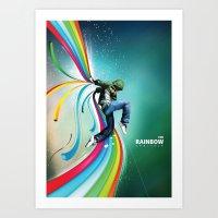 The Rainbow Conjurer Art Print