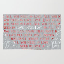 All You Need is... Rug
