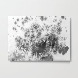 Grey grows and spreading Metal Print