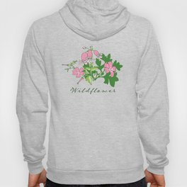Forest Wildflowers / Green Background Hoody