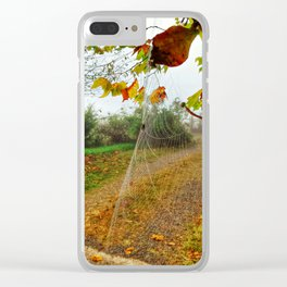 Fall-O-Ween Clear iPhone Case