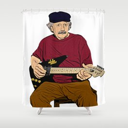 Rockstein Shower Curtain