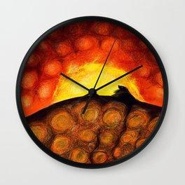 Digging Deep Wall Clock