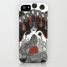 Women's prayer iPhone Case