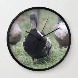 Duck Mafia Wall Clock
