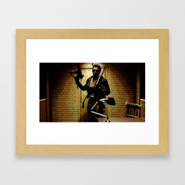 The Terminator T-800 Framed Art Print