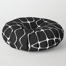 Energy Vibration 4. Frequency - Chladni - Cymatics Floor Pillow