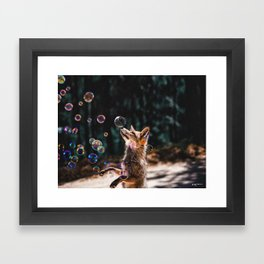 seek the magical side of the ordinary. Framed Art Print
