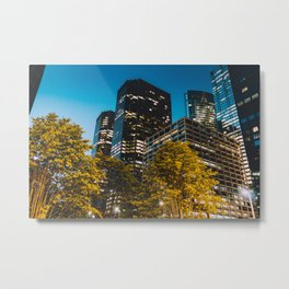 Chicago - Mecca of the Midwest IV Metal Print