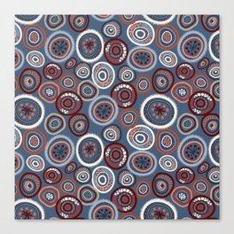 Life Circles:  Slate Canvas Print
