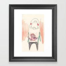 Manatee Kuato Framed Art Print