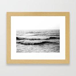 California Waves Framed Art Print