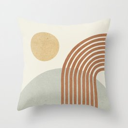 Sunny Hill Throw Pillow