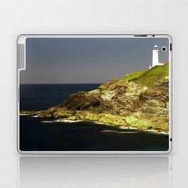 Trevose Head Lighthouse, Cornwall, United Kingdom Laptop & iPad Skin