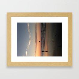 Orange Hue Framed Art Print