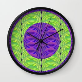 Circle design 3 Wall Clock
