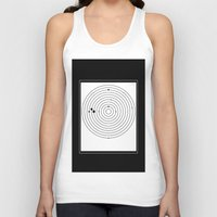 universe Tank Tops featuring universe by oguzhan
