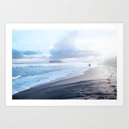 BLUE PARADISE Art Print