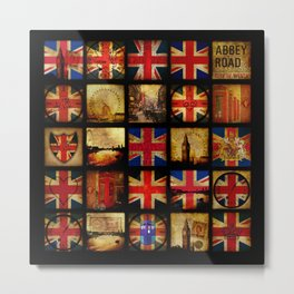 The British are coming Metal Print