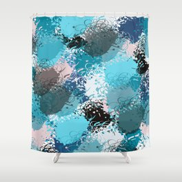 Abstract pattern 68 Shower Curtain
