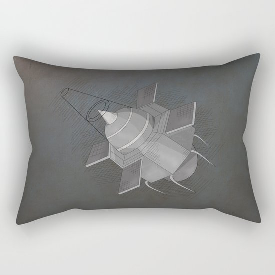 To the Moon and back Rectangular Pillow
