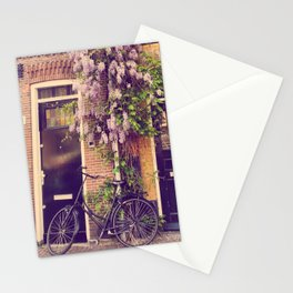 Dutch Bicycle in Europe Stationery Cards