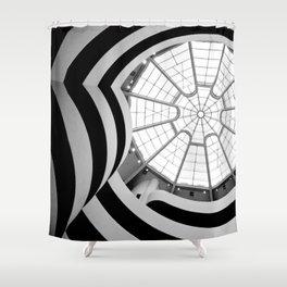 Interior Guggenheim NY Shower Curtain