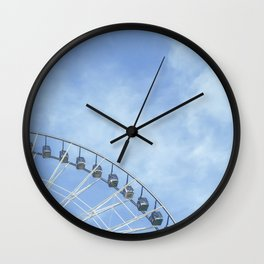 Life is a wheel of fortune Wall Clock