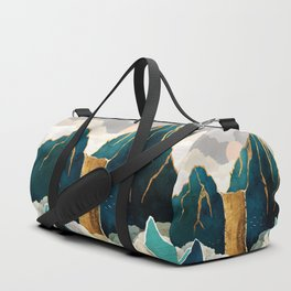 Golden Waterfall Duffle Bag