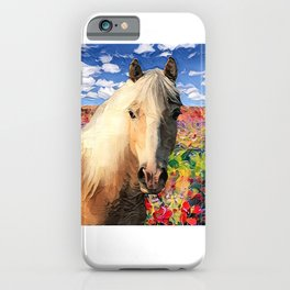 Happy Haffie iPhone Case