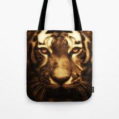 Midnight Tiger Tote Bag