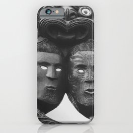 Maori Tribal Totem iPhone Case
