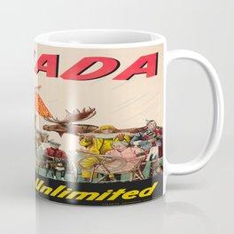 Vintage poster - Canada Coffee Mug