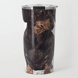 Dog-Dachshund Travel Mug