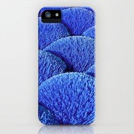 Blue Asian Impression iPhone Case