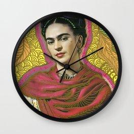 Holy Frida / Santa Frida Wall Clock