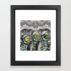 Les Distantes Framed Art Print