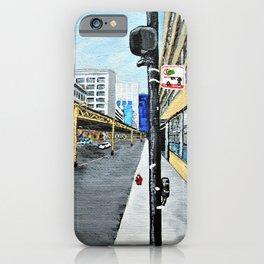 On a Chicago Street Corner iPhone Case