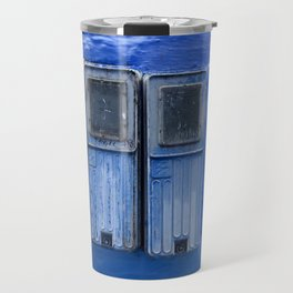 Blue Electricity Readers in Morocco Travel Mug