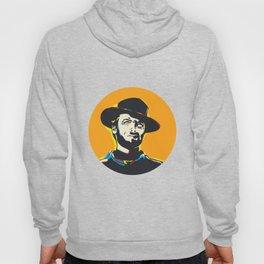 Clint Eastwood Pop Art Portrait Hoody