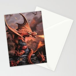 The Strongest Warrior Family Stationery Cards