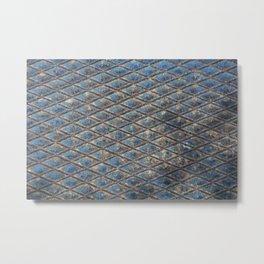 Blue Diamond Metal Metal Print