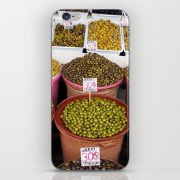 Olives iPhone Skin
