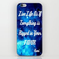 inspirational iPhone & iPod Skins featuring Inspirational by 2sweet4words Designs