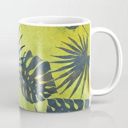 Tropical Leaves Pattern 2 Coffee Mug