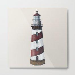 Nautical Light House Metal Print