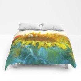 Sunflower Glow Comforters