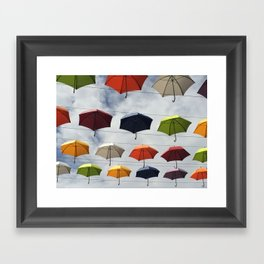 What color are you ? Framed Art Print