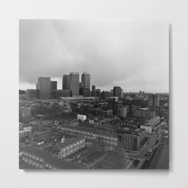 View Across East London Metal Print