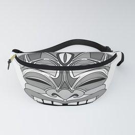 Smiling Tiki-Mask Fanny Pack